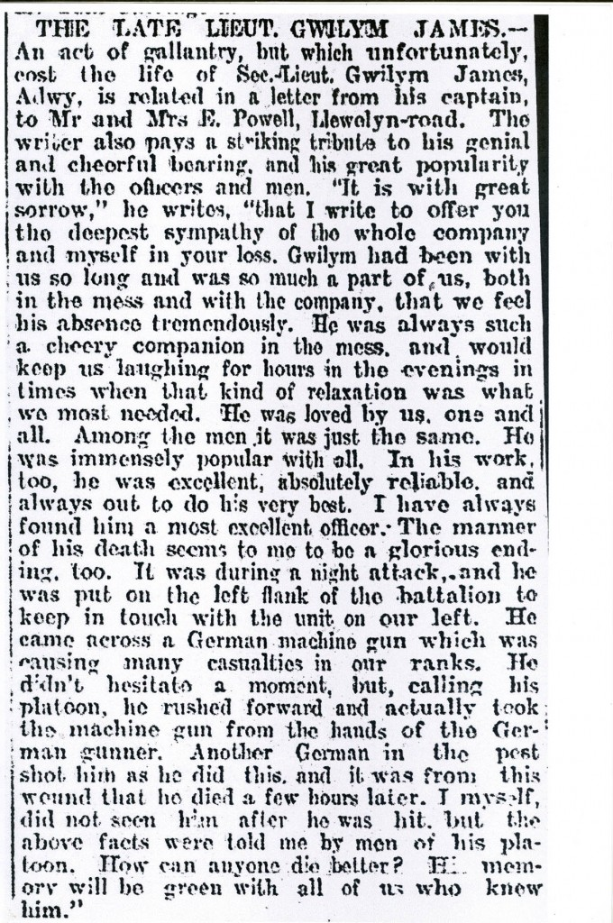 gwilym-james-obituary