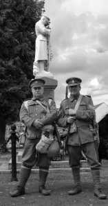 Sergeant George Riley and Sergeant Terry Edge, Re-opening of the Gates 27th June 2015