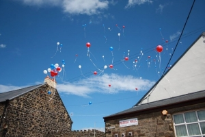 Balloon Release, Re-opening of the Gates 27th June 2015